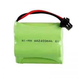 NiMH uzlādējamais akumulators AA2400 6V