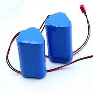 Uzlādējams litija jonu 3S1P 18650 10.8v 2250mah litija jonu akumulators medicīnas ierīcei
