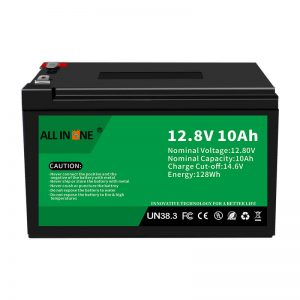 12,8V 10Ah LiFePO4 svina skābes nomaiņas litija jonu akumulators 12V 10Ah
