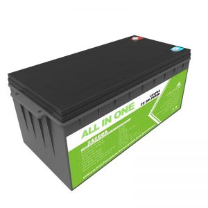 Ilga mūža uzlādējams rezerves spēks 12.8v 200ah LiFePO4 akumulators golfa grozam