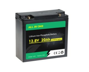 Uzlādējams dziļa cikla Lifepo4 12V 20AH litija jonu akumulatoru komplekts OEM