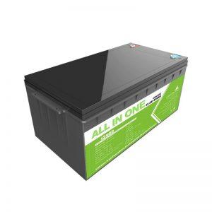 Lieljaudas dziļa cikla uzlādējams 12.8v 400ah Lifepo4 litija jonu akumulators