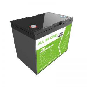 Hotsale 12.8V 80Ah litija jonu akumulators saules enerģijas uzglabāšanas rezerves barošanas avotam aizstāj svina skābes akumulatora ilgu kalpošanas laiku