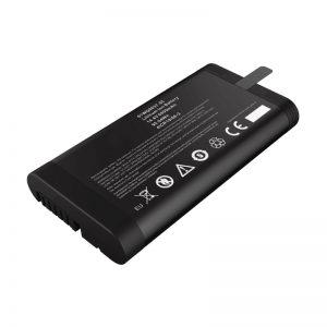 14,4 V 6600 mAh 18650 litija jonu akumulators Panasonic akumulators tīkla testerim ar SMBUS sakaru portu