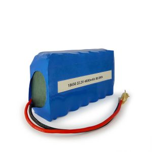Pielāgots ICR18650 litija jonu akumulators 6S2P, uzlādējams 22.2v 4000mAh litija jonu akumulators