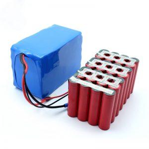 Pielāgota augstas kvalitātes laba cena Visvairāk pārdotā 18650 24V 8.8Ah baterija