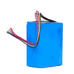 Īpaši izmantots medicīniskajiem aparātiem un instrumentiem 18650 3500mah elementu 7.2v10.5ah akumulatoru komplekts