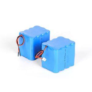 Pielāgots uzlādējams litija akumulators 18650 ar lielu izlādi 3s4p 12v li-ion akumulatoru komplekts
