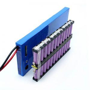 ALL IN ONE Vairumtirdzniecība 12S2P 18650 li jonu akumulators 44.4V 6Ah Elektriskajam skeitbordam