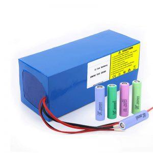 Litija akumulators 18650 72V 20Ah zems pašizlādes līmenis 18650 72v 20ah litija akumulators elektriskiem motocikliem