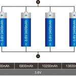 18650 litija bateriju savienojums