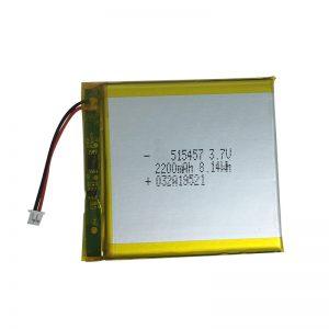 3.7V 2200mAh polimēra litija akumulatori viedās mājas ierīcēm