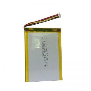 516285 3,7 V 4200 mAh viedās mājas instrumenta polimēra litija akumulators