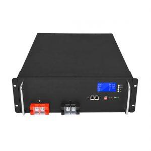 Augstas enerģijas litija jonu akumulators 48V 50Ah LiFePO4 saules enerģijas uzglabāšanas sistēmām