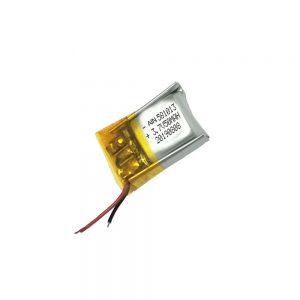 Augstas kvalitātes litija polimēra akumulators 3.7V 50mAh 581013 akumulators