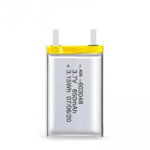 LiPO uzlādējamais akumulators 603048 3,7 V 850 mAh / 3,7 V 1700 mAH / 7,4 V 850 mAH