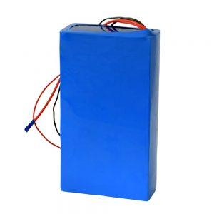 Uzlādējama 60v 12ah litija baterija elektriskajam motorollerim