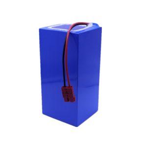 Litija jonu akumulatoru komplekts 60v 40ah litija akumulatoru komplekts 18650-2500mah 16S16P elektriskajam motorolleram / e-velosipēdam