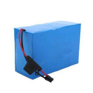 Pielāgots 72 voltu akumulatora litija jonu 72V akumulators
