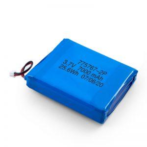 Pielāgots 3,7 V 2450 2600 3900 4000 4500 4700 5000 6000 9000Mah Polymer Lipo akumulators