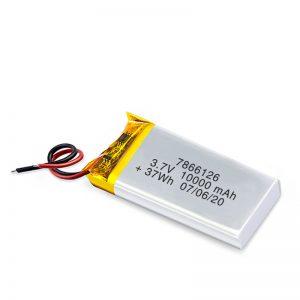 LiPO uzlādējamais akumulators 7866120 3,7 V 10000 mAh / 3,7 V 20000 mAH / 7,4 V 10000 mAh