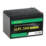 12V 12Ah iepakojuma svina skābes akumulatora nomaiņa LiFePO4 akumulators