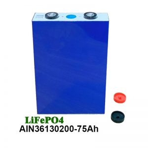 LiFePO4 prizmatiskais akumulators 36130200 3,2 V 75AH