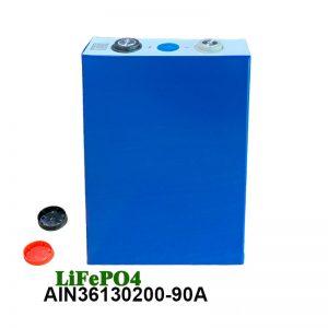LiFePO4 Prismatic Battery 3.2V 90AH lifepo4 šūnu uzlādējams akumulators automašīnas elektroinstrumentiem elektriskais ratiņkrēsls