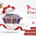 Priecīgus Kristama apsveikumus no ALL IN ONE Battery Technology Co Ltd