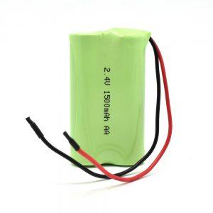 NiMH uzlādējamais akumulators AA1500mAh 2.4V