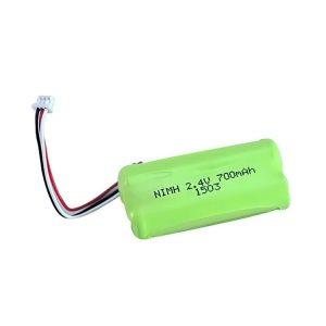 NiMH uzlādējamais akumulators AA700 2.4V