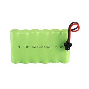 NiMH uzlādējamais akumulators AA 2400mAh 7,2 V