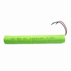 NiMH uzlādējamais akumulators SC 3600mAH 4.8V