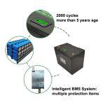 Litija akumulatora pamatparametri