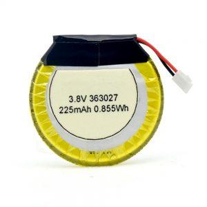 LiPO pielāgots akumulators 363027 3,7 V 225mAH