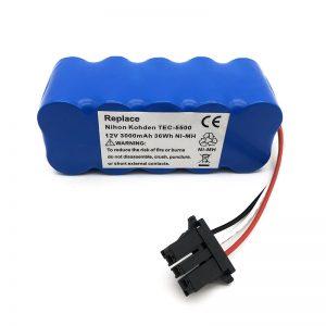 12 V ni-mh akumulators putekļsūcējam TEC-5500, TEC-5521, TEC-5531, TEC-7621, TEC-7631